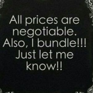 Other - All prices are negotiable!